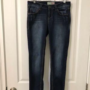 Paris Blues Skinny Jeans Junior Size 7